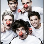 One Direction Red Noses